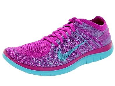 uk availability 163f5 eea5c Nike Free 4.0 Flyknit Women's Running SHOES-631050-501-SIZE ...