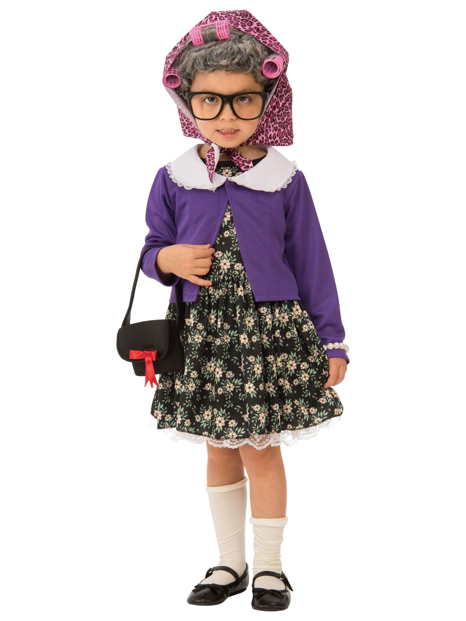 Rubie's Little Old Lady Child's Costume, Medium