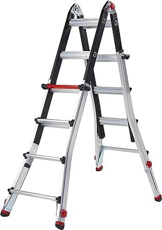Altrex varitex Tele prof Flex 4 x 4 – Escalera aluminio: Amazon.es: Bricolaje y herramientas
