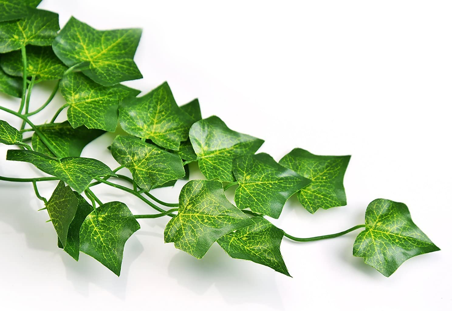 Unilove 156 feet Fake Foliage Garland Leaves Decoration Artificial Greenery Ivy Vine Plants for Home Decor Indoor Outdoors Ivy Leaves