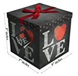 "Gift Box 9""x9""x9"" - Amrita Love Collection - Easy"