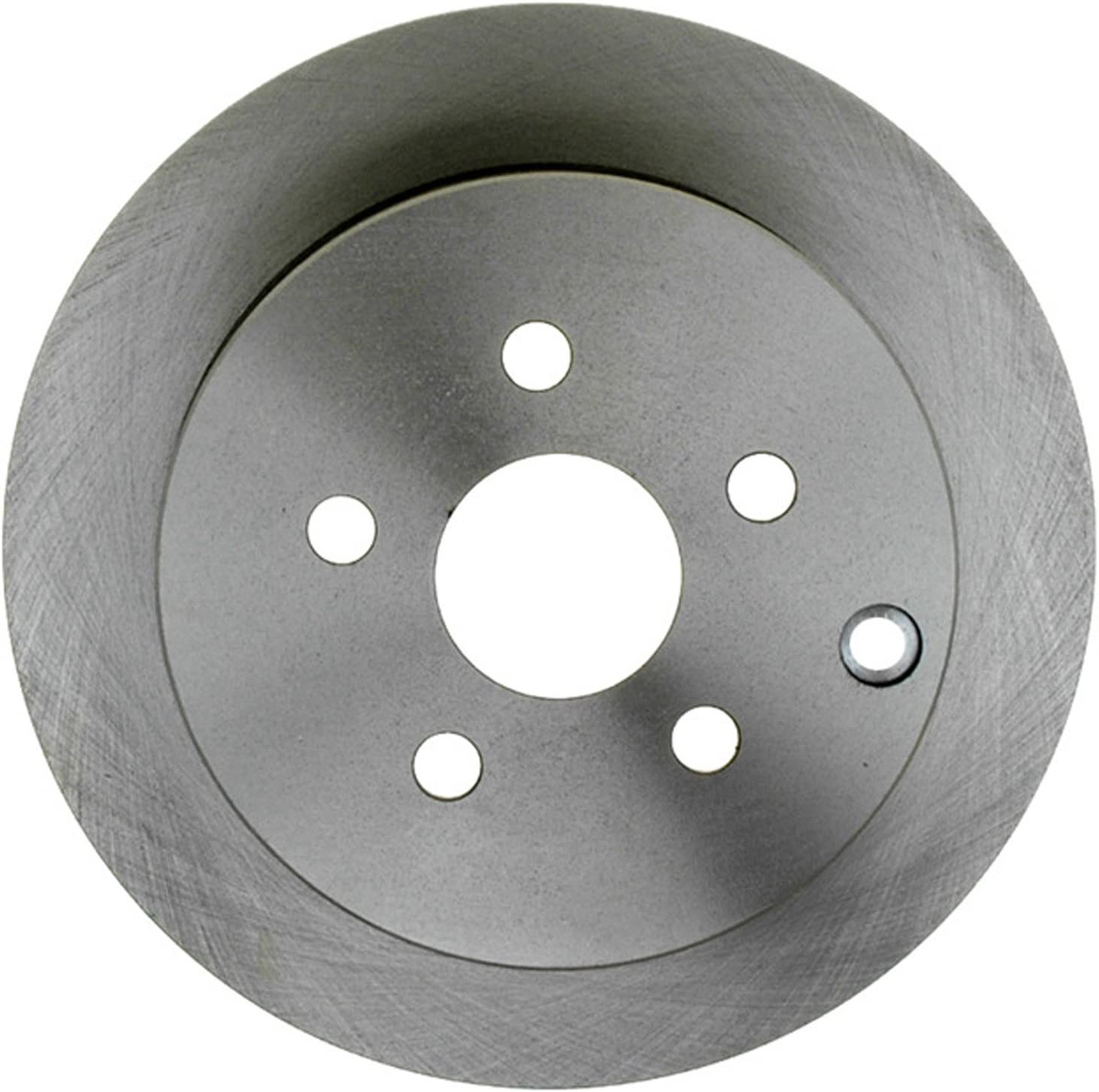 ACDelco 18A1103A Advantage Non-Coated Rear Disc Brake Rotor