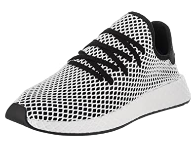 huge selection of cd4a4 aac9e adidas Deerupt Runner Black Black-White