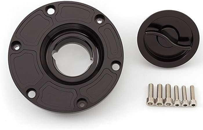Rzmmotor Motorcycle Gas Fuel Tank Oil Cap Cover Aprilia Rs125 Rs250 Shiver 750 Triumph Daytona T595 Speed Triple 955i Street Triple 675 Street Triple R Sprint Gt Super Duke 990 990r All Years Auto