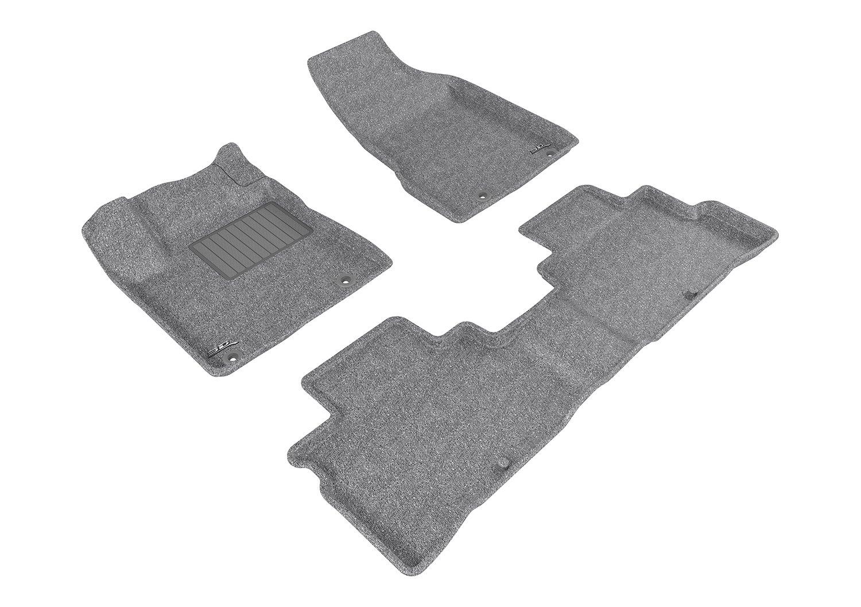 3D MAXpider Nissan Murano 2015-2016 Classic Carpet Gray Front Row L1NS08312201