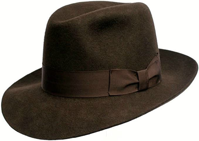 Uomo Cappello Fedora Indiana Jones