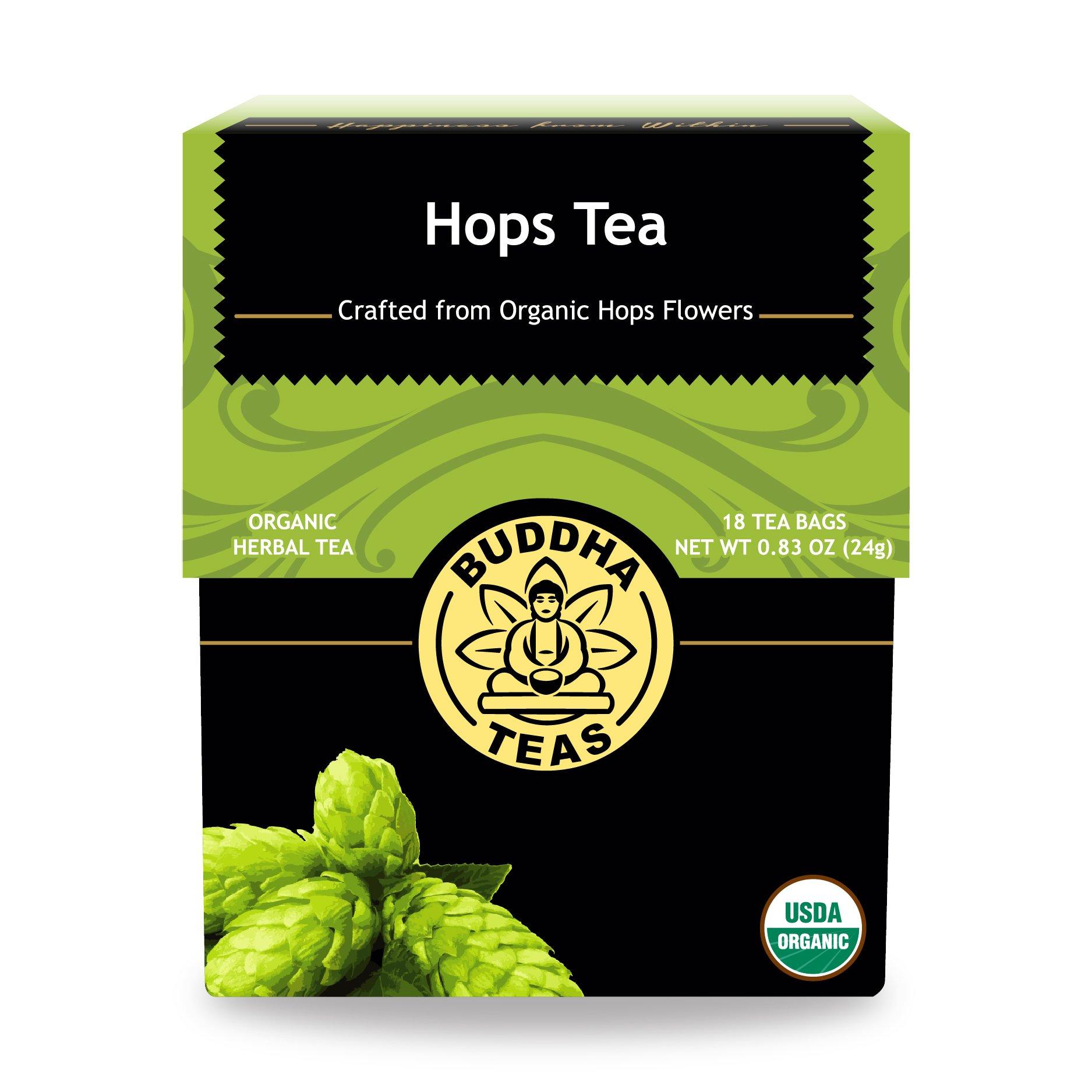 Cheapest amazon herbs - Organic Hops Tea Kosher Caffeine Free Gmo Free 18 Bleach Free