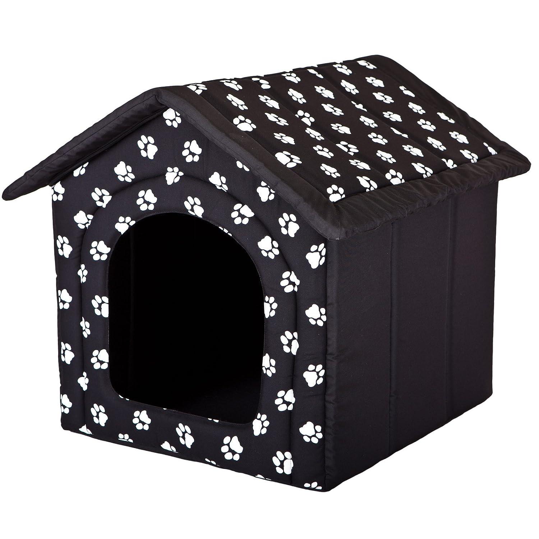 Hobbydog Caseta para perro tamaño color Negro con patas
