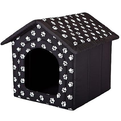 Hobbydog - Caseta para Perro, tamaño 3, Color Negro con Patas.