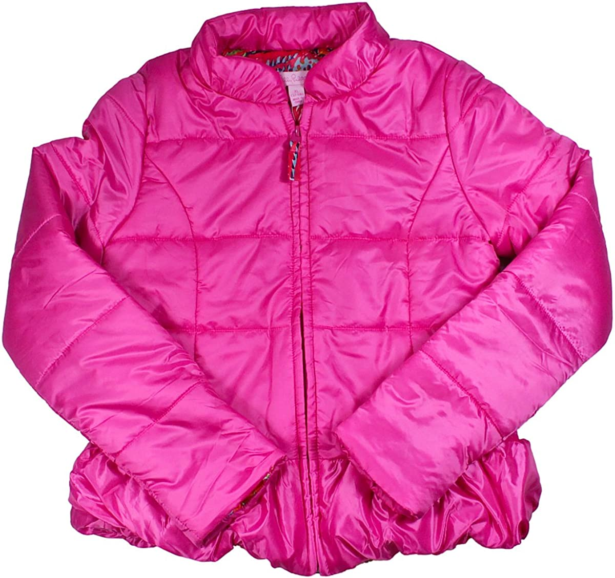Lilly Pulitzer Girls Pink Parka Size M