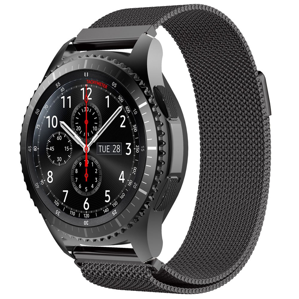 Amazon.com : Gear S3 Metal Band, 22mm Milanese Loop ...