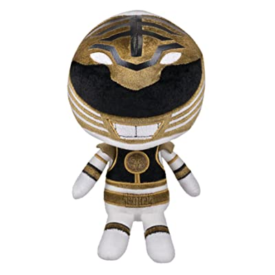 Funko Power Rangers White Ranger Plush Toy: Toys & Games