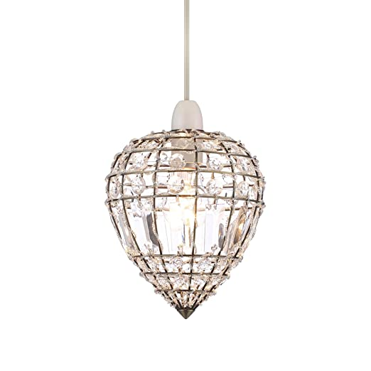 Home collection kylie crystal glass antique brass easyfit ceiling home collection kylie crystal glass antique brass easyfit ceiling shade aloadofball Image collections