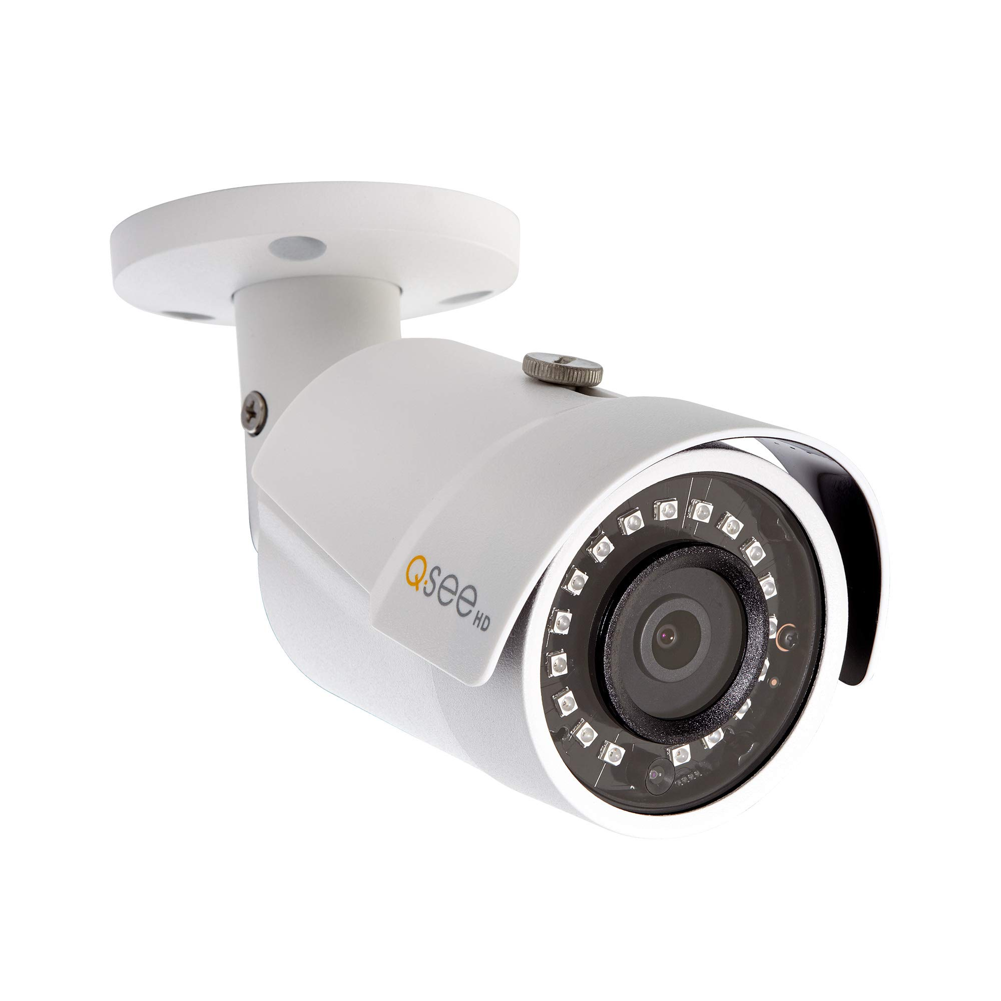 Q-See Home Security Add On Camera, 1080P IP HD Bullet Camera, Night Vision, Indoor and Outdoor Add-On Bullet Camera, White (QCN8082B)