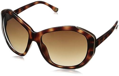 Michael Kors - Gafas de sol Oversized MKS291 para mujer, Brown frame / Brown lens (240)