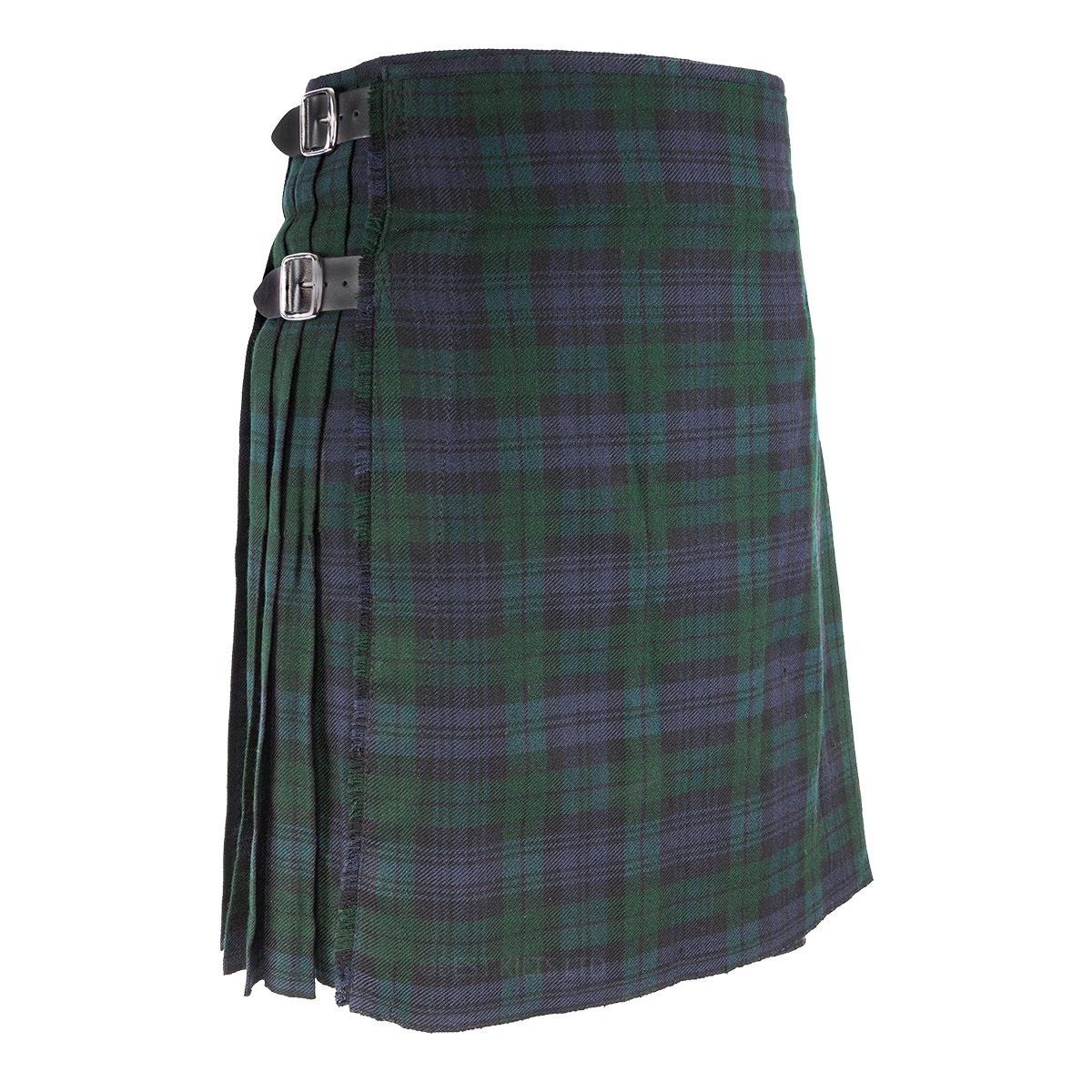 "Best Kilts Men's Traditional Scottish 5 Yard Black Watch Tartan Kilt 38""-40"""