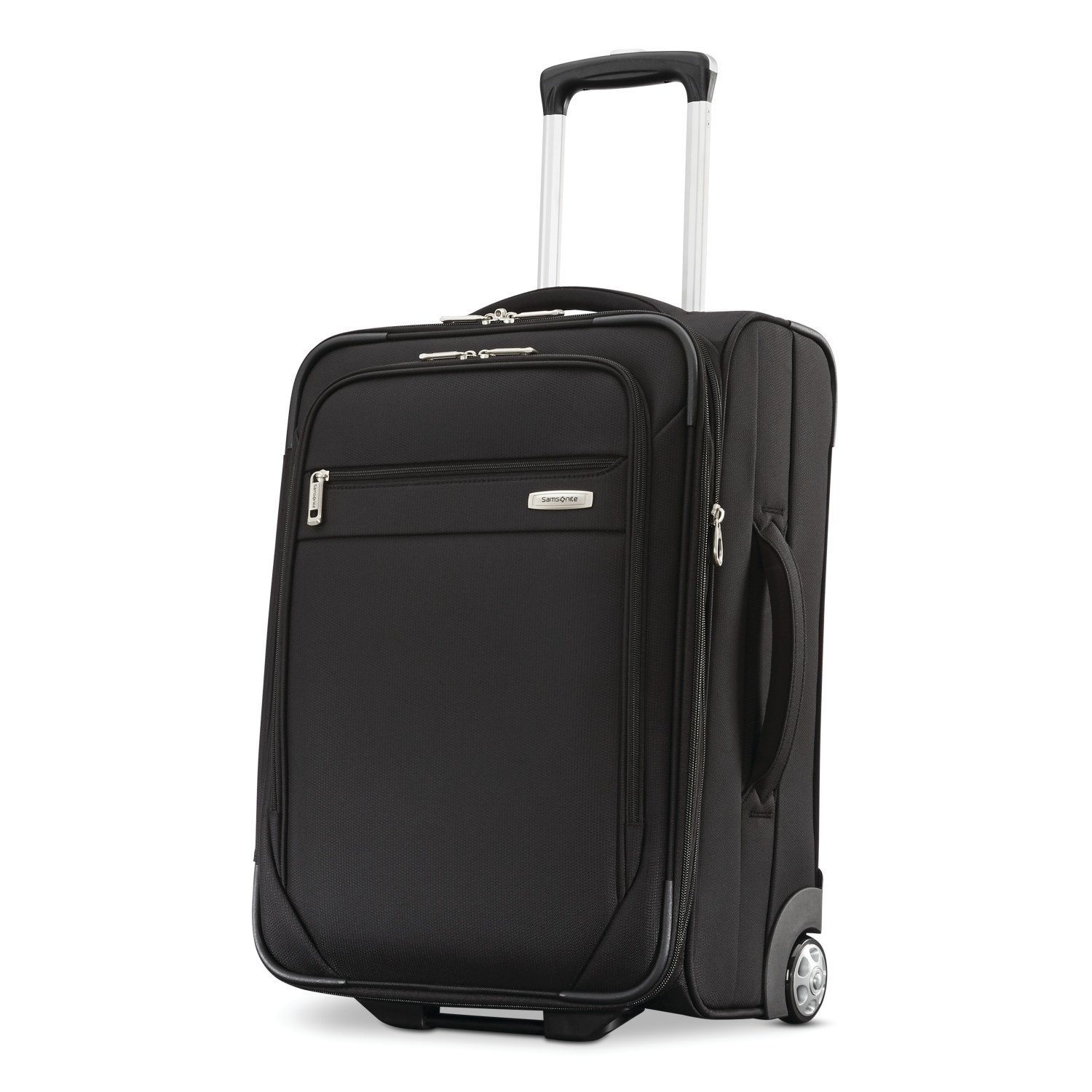 Samsonite Advena Expandable Softside Upright, 21 Inch, Black