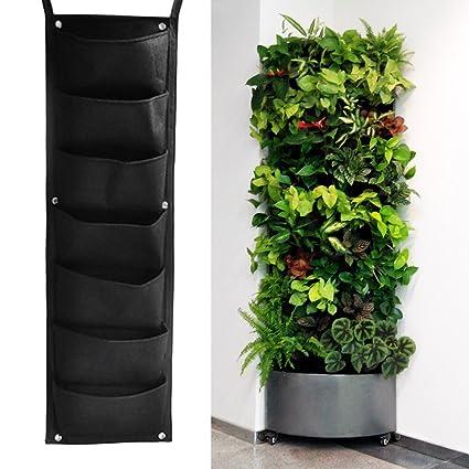 Amazon Com Easydeal 7 Pocket Hanging Vertical Garden