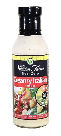 Walden farms salad sauces, 340gr (aderezos para ensaladas sin calorías)
