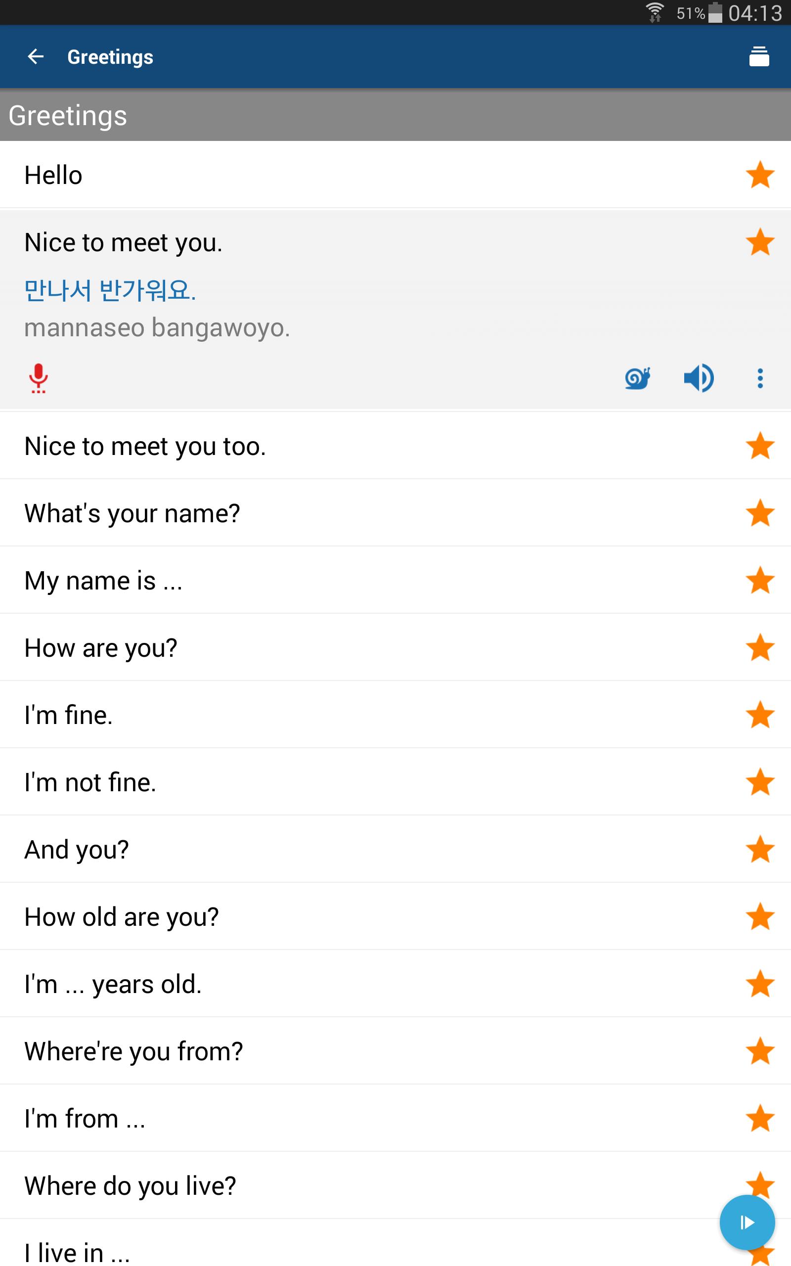 Amazon Learn Korean Phrases Korean Translator Appstore For