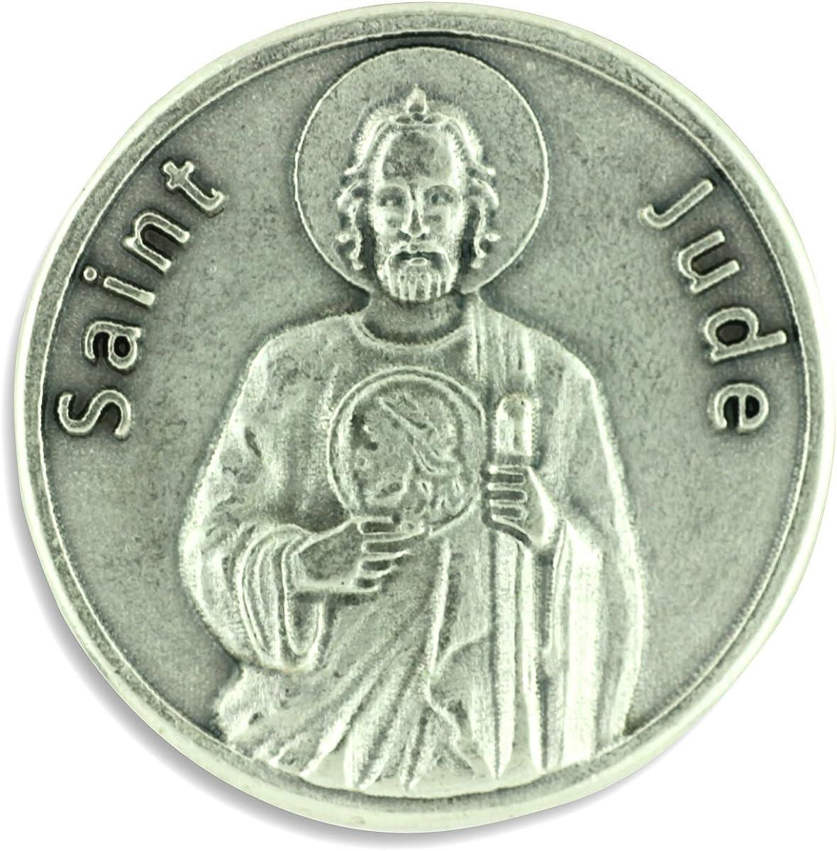 Guardian Angel Catholic Pocket Token Prayer Coin Medal  New