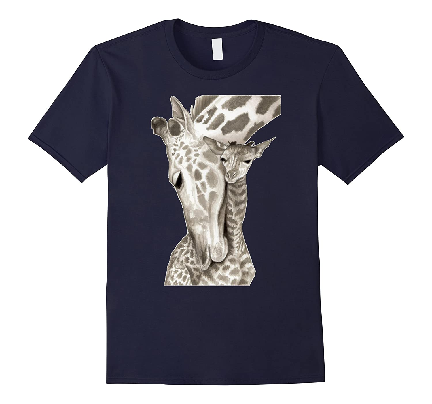 April The Giraffe Art Shirt - The Giraffe Funny Shirt-CD