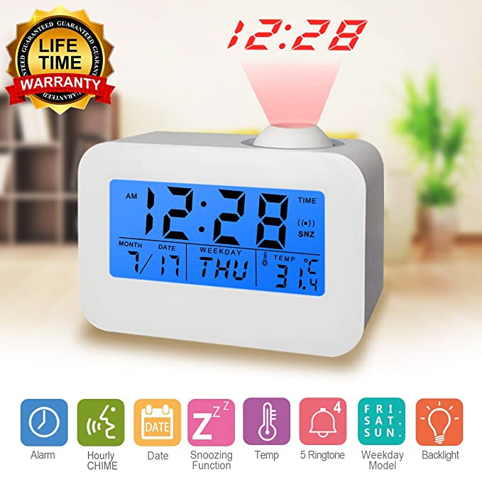 kecess Digital Alarm Clock - The Simple and Affordable