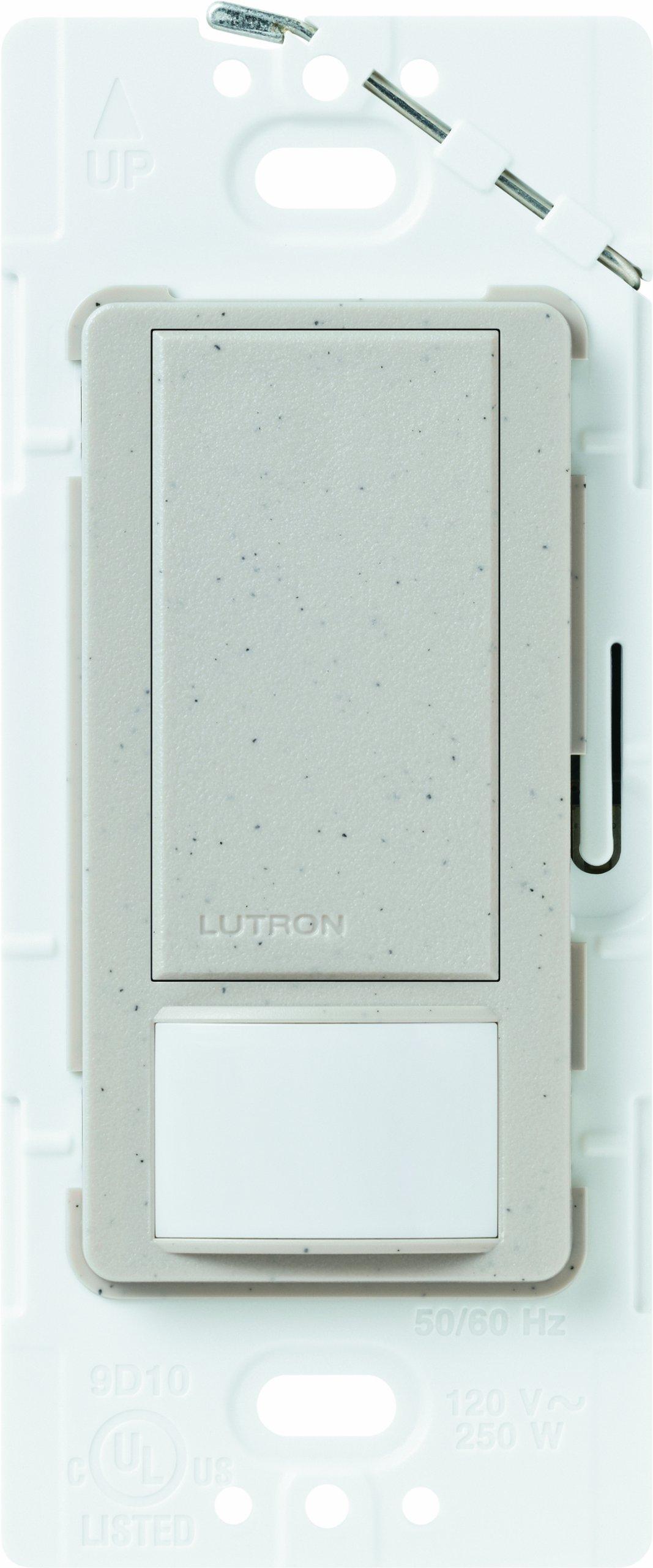 Lutron MS-VPS2-ST VACANCY SENSOR SWITCH, Stone