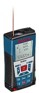 Bosch Laser Distance Measurer, 825 Feet GLR825