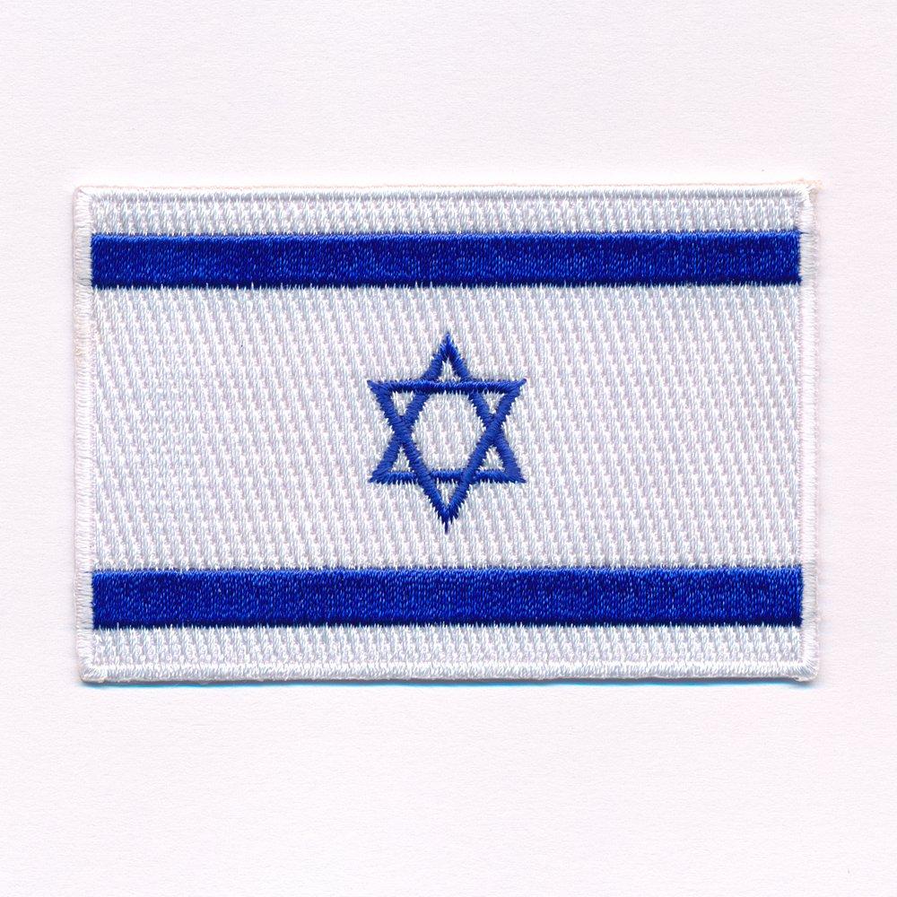 30/x 20/mm Israel Jerusalem Juden Flag Sew-On Badge//Iron-On Patch 0634/Mini
