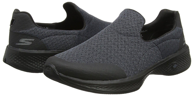 Skechers Performance Women's Go Walk Slip-On Walking Shoe (8.5 B(M) US, Black/Black)