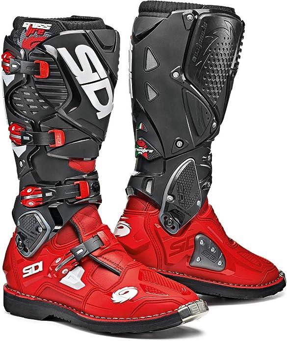 Sidi Unisex Erwachsene Crossfire 3 Red Black 46 Motorradstiefel Rot Schwarz Einheitsgröße Schuhe Handtaschen
