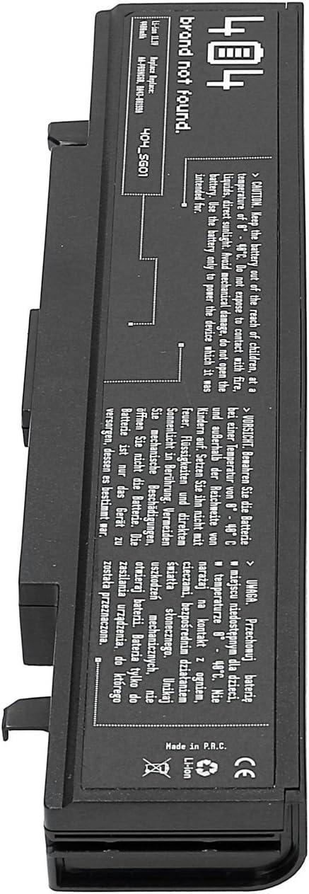 Wessper 404Brand Bater/ía del Ordenador port/átil para Samsung NP-R540-JA09ES 10.8V, 4400 mAh, Negro, 6 Celdas