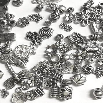 Tibetan Bicone Spacer Beads 4 x 5mm Mixed 30 Pcs Art Hobby DIY Jewellery Making