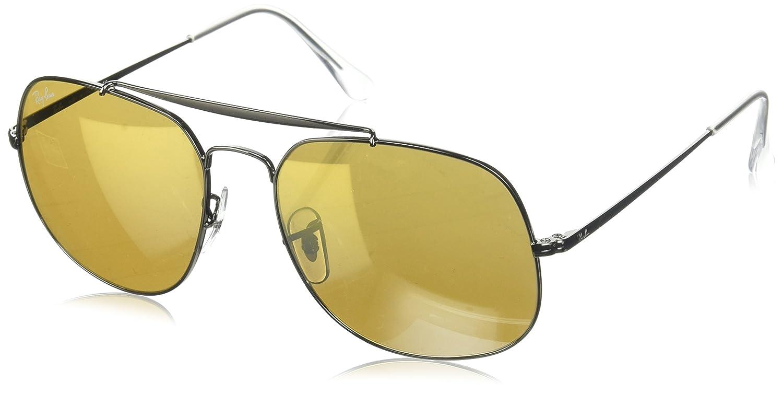 Ray-Ban 0RB3561, Gafas de Sol para Hombre, Marrón (Brown Gradient Mirror), 57: Amazon.es: Ropa y accesorios
