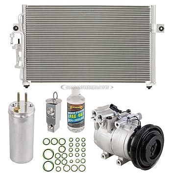 Nueva Original AC Compresor & embrague + a/c Kit de reparación para HYUNDAI ELANTRA