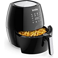 Innsky Air Fryer 5.5L, 1700W Air Fryer for Roasting, High-Tech Cooking appliances & Oilless Cooker with LED Touchscreen…