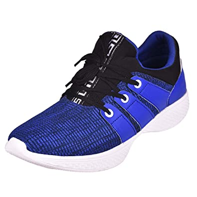 IMCOLUS Men's Casual Royal Blue Shoes