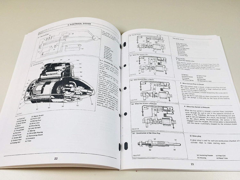 Amazon.com: Kubota L2850Dt/R Tractor V1702 Engine Service Shop Manual Repair:  Automotive