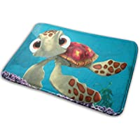 Surwoaly Finding Nemo Sea Turtles Print Doormat Bedroom Mats Kitchen and Living Room Mats Non-Slip Bath Mat Floor Mat…