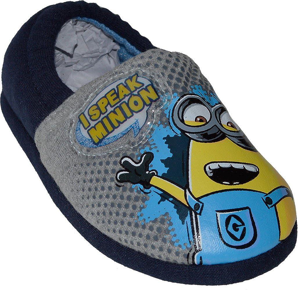 Boys - Minions Novelty Speaking Slippers