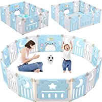 Dripex Parque para Bebés, Corralito Bebe, Centro de Actividades para Niños, Patio de Juegos de Seguridad Hogar Interior…