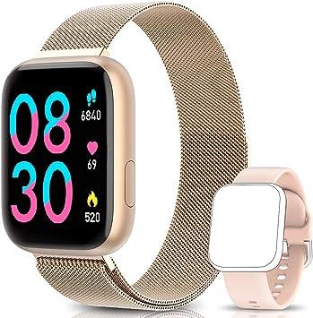 BANLVS Smartwatch Reloj Inteligente IP67 con Correa Reemplazable ...