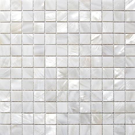Bekannt Perlmutt Mosaik Fliesen Fluss Bett natur Pearl Shell Mosaik DV11