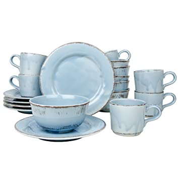 Crockery Set Of 18 Pieces Tosca Breakfast Cup Cereal Bowl
