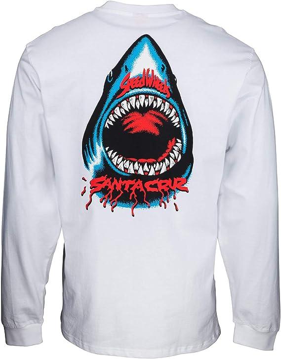 Santa Cruz Speed Wheels Shark Camiseta de manga larga