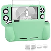 Silicone Protective Case for Nintendo Switch Lite, Soft Grip Case Cover with Comfort Ergonomic Handles for Nintendo…