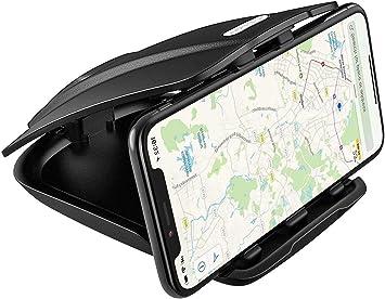 APPS2Car Soporte GPS para Salpicadero de Coche con tres ranuras de ángulo de ajuste para Teléfono