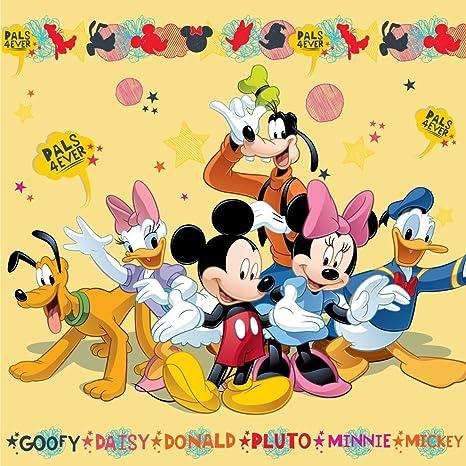 Amazon.com: Mickey y Minnie Pluto Daisy Donald y Goofy Cojín ...