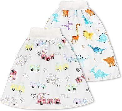 Jupe-culotte confortable en coton pour b/éb/é
